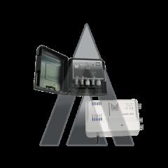 ALCAD BO-160 Kit amplifier AM-160 & power supply