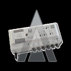 ALCAD CA-342 Central amplifier 4 inputs, 2 outputs UHF-UHF-BIII-BI/FM, LTE rejection, 2x110 dBµV