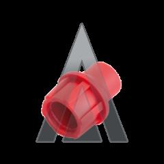 TELECOM FAST CAP RED CAP/R