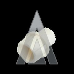 TELECOM FAST CAP WHITE CAP/W